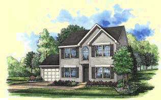 DE home builders model home image
