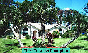 Florida new home model photo
