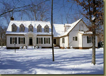 Colonial custom home photo by Charles W. Ross Builder, Inc.