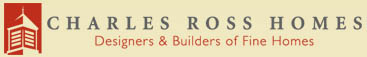 Williamsburg VA build/design custom home builder's logo - Charles Ross Homes
