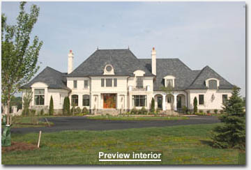 Northern Virginia luxury home photo