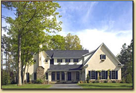 Northern Virginia custom home photo, by builder Chris Kohlhass