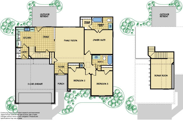 the everest model new home design by jagoe homes