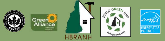 New Hampshire professional builder association logos
