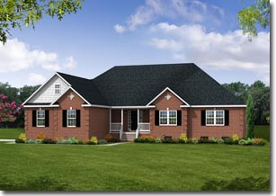 Lynchburg VA new home model image - by Mitchell Homes