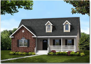 Fredericksburg new home image - by Mitchell Homes
