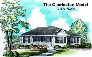 South Carolina home builders model home image
