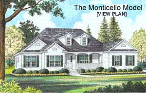 NC builders model home image